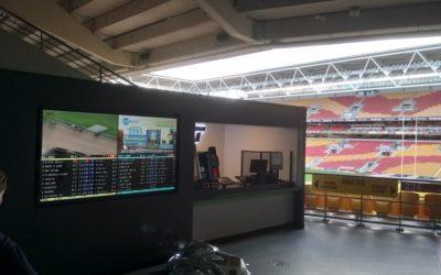 Suncorp Stadium Ubet Installation