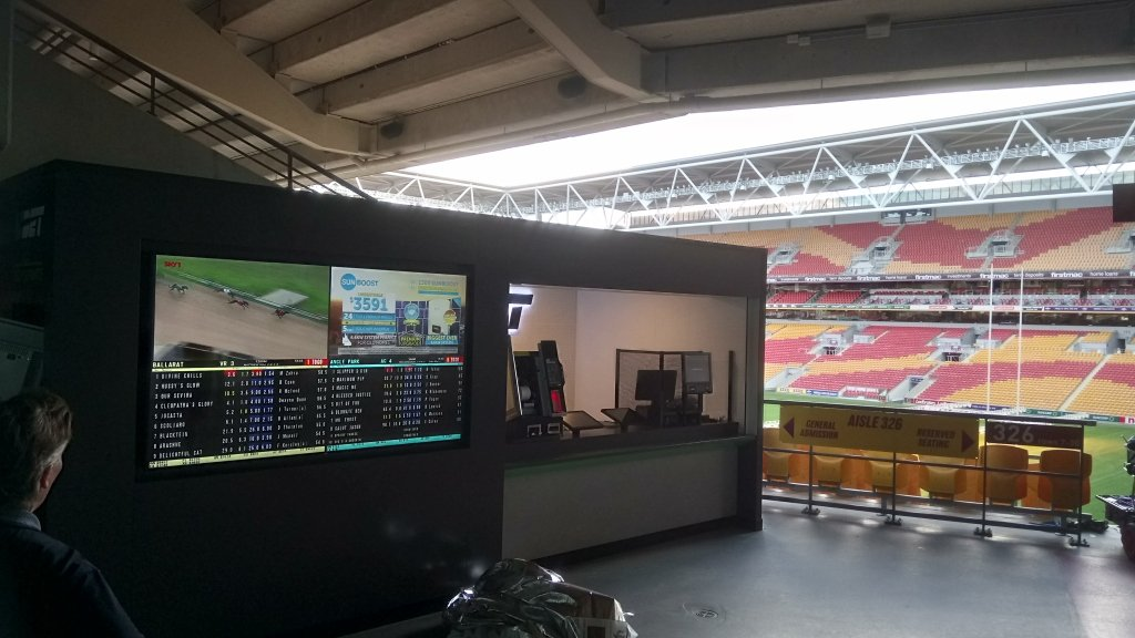 Suncorp Stadium Ubet Installation