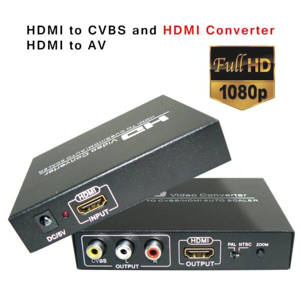 HDMI to Component Converter top